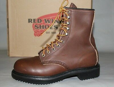 cc878a0ec79 RED WING SHOES Dynaforce ® 6-inch Boot Men's Size 8 2212 Steel Toe ...