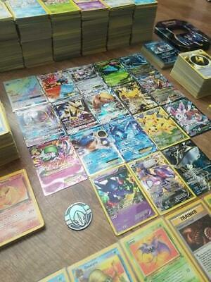 Pokemon Cards Bundle 10x-500x - Guaranteed EX GX MEGA BREAK HOLO RARE Joblot
