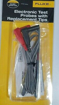 FLUKE TL910 Electronic Test Probes with Replacement Tips