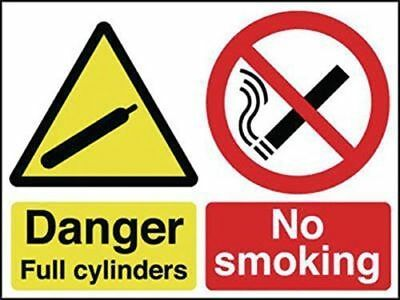 Signs Danger Full Cylinders No Smoking Hazard Safety SIGNS new