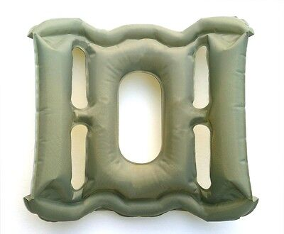 Blow Up Pressure Relief Travel Cushion. UK Design & Manufacture. NOT Cheap PVC