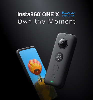 Insta360 ONE X 5.7K HDR Panoramic Mini Sports DV Action Camera WiFi Night Vision