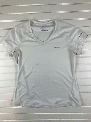 b0d12e59f5c Women's Columbia Sweat Activated Cooling Omni Freeze Zero Top White Small  C68