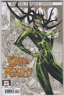 War of the Realms #1 - Variant Cover by J. Scott Campbell