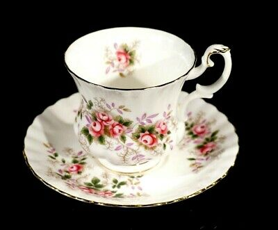 Beautiful Royal Albert Lavender Rose Coffee Cup And Saucer