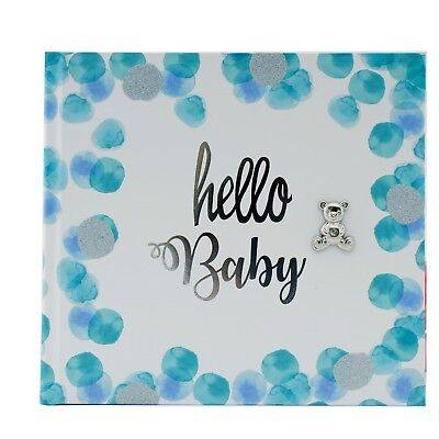 Baby Boy Photo Album Slip In  Quality Photo Album Newborn Baby Gift Present