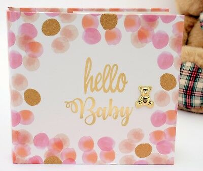 Baby Girl Photo Album Slip In  Quality Photo Album Newborn Baby Gift Present