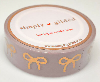 Simply Gilded Washi Tape | Dusty Rose from Neutral Collection (15 mm) | NIP