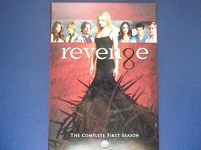 Revenge   The Complete First Season  5 DVD set  New sealed