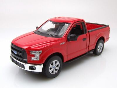 Ford F-150 Rregular Cab Pick Up WE24063RE Red 2015 Welly 1:24