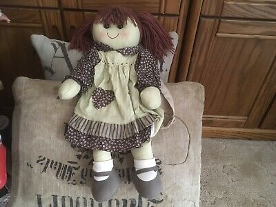 Handcrafted Michelle Backpack Doll 45cm Tall