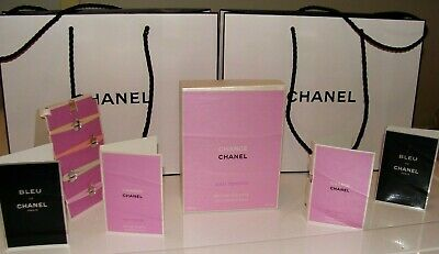 e70184b0a98f Chanel Lot Chance, Bleu De Chanel, Paper Gift Bags, Box From Chanel Chance