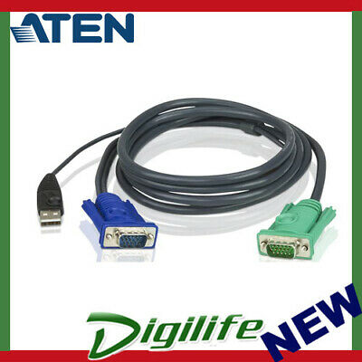 ATEN 2L-5203U USB KVM Cable with 3 in 1 SPHD - 3.0m