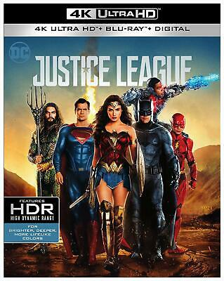 Justice League / Wonder Woman (4K UHD Combo) **SEALED*** FREE SHIPPING***