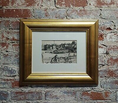 Black Lion Wharf -Print on paper by James Whistler