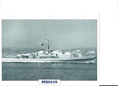 "Collection photos/Le bâtiment dragueur-chasseur de mines "" Regulus""/RFA1961"