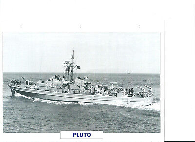 "Collection photos/Le bâtiment dragueur-chasseur de mines "" Pluto ""/RFA1960"