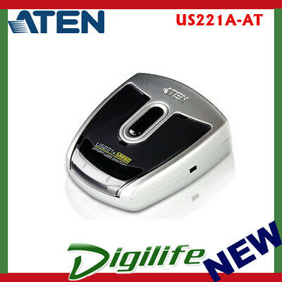 Aten 2 Port USB 2.0 Peripheral Switch - US221A