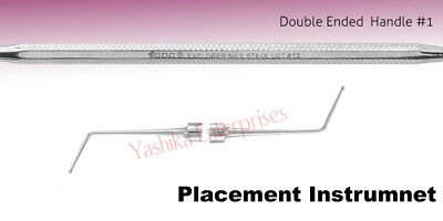 Dental PLACEMENT INSTRUMENT Dycal Applicator # Double Ended #1 PICH7