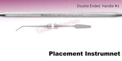 Dental PLACEMENT INSTRUMENT Dycal Applicator D/E with Spatula #1 SP60616