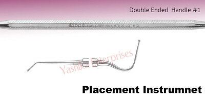 Dental PLACEMENT INSTRUMENT Dycal Applicator # Double Ended #1 PICH6
