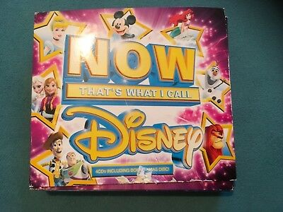 Now  thats what i call  music, Disney , 4x  cds boxset