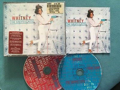 Whitney - The Greatest Hits (2 x CD Album) in fat box