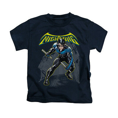 BATMAN NIGHTWING Licensed Kids Boys Graphic Tee Shirt 2T 3T 4T 4 5-6 7