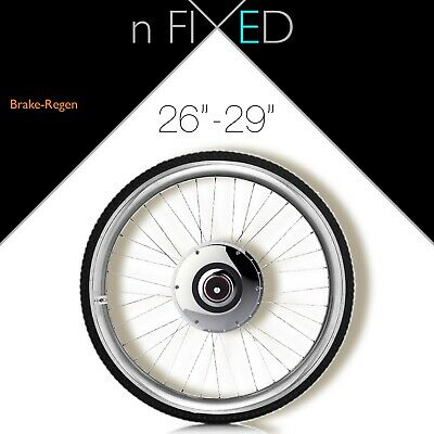 London FIXED GEAR 'All-in-One 700c Smart-Wheel' Zehus electric conversion kit