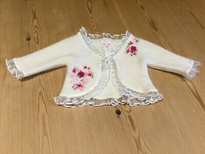Girls Monsoon Special Occasion/Party Bolero/Cardigan Age 0-3 Months