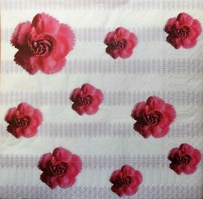 4 x Single Paper Napkins for Decoupage Craft Table Leaves Pattern a3