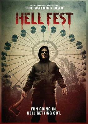 Hell Fest DVD (region 1 us import) USED, IN GOOD CONDITION.