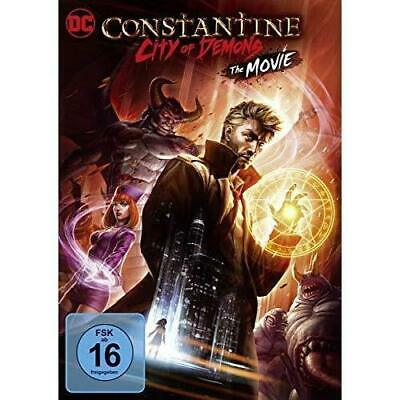 CONSTANTINE CITY OF DEMONS DVD (region 1 us import) USED, IN GOOD CONDITION.