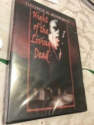 George A. Romero's Night of the Living Dead [DVD] NEW - RARE