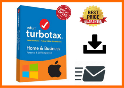 TURBOTAX BUSINESS 2018 Edition Email Delivery [ Windows Only