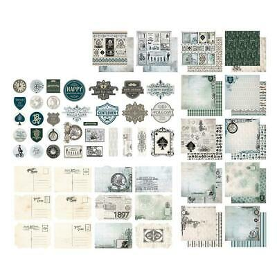 """Couture Creations - Gentleman's Emporium - 12 x 12"""" Paper Pack (CO726813)"""