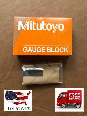 Gauge Block,Square,Steel, 0.98mm ,ASME 0 MITUTOYO 611939-531,New, Factory Sealed