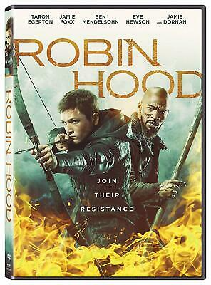 ROBIN HOOD  2019 DVD (region 1 us import) USED, IN GOOD CONDITION.