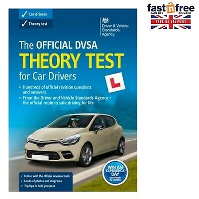 2019 DVSA Driving Car Theory Test Book Paperback Official Latest Compilation UK
