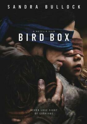 Bird Box DVD 2018 (region 1 us import) USED, IN GOOD CONDITION.