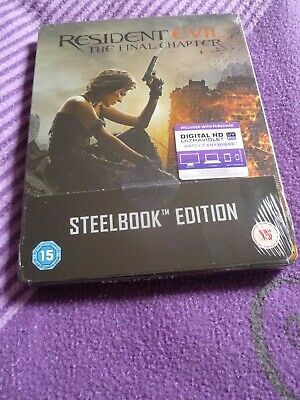 Resident Evil: The Final Chapter - Blu-ray Steelbook