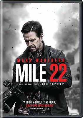 Mile 22 DVD (region 1 us import) USED, IN GOOD CONDITION.