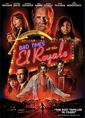 Bad Times At The El Royale DVD (region 1 us import) USED, IN GOOD CONDITION