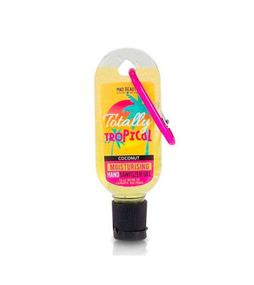 2 x Mad Beauty - Totally Tropical Hand sanitizer gel - Coconut