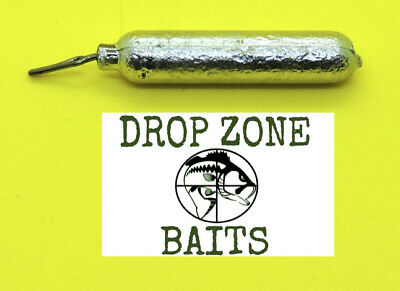 100 of 1//2 oz lead finesse drop shot weights with a ring by S /& J/'s Tackle Box