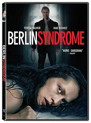 Berlin Syndrome DVD (region 1 us import) USED, IN GOOD CONDITION.