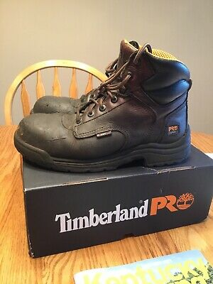 d82ee82548c TIMBERLAND PRO SERIES Titan Safety Toe Size 9 M Work Boot Composite Toe