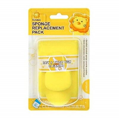 Simba Nanotech Sponge Replacement Pack, Yellow