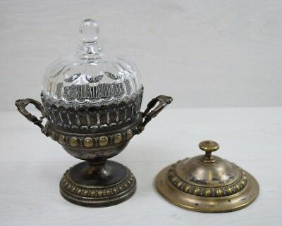 Antique German WMF WMFM zg Stamped Germany Bowl Cup Silver Plated Art Nouveau
