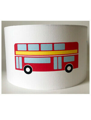 Transport, Trucks and Buses Large Fabric Light Shade